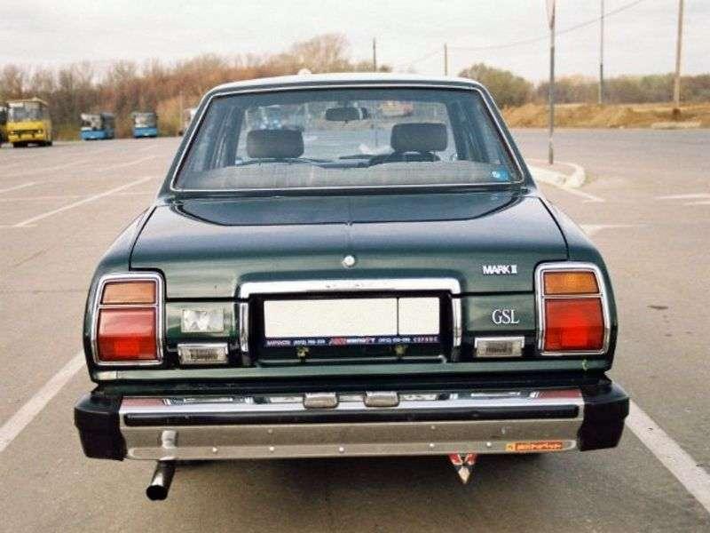 Toyota Mark II X30 / X40 sedan 2.6 AT (1976–1980)