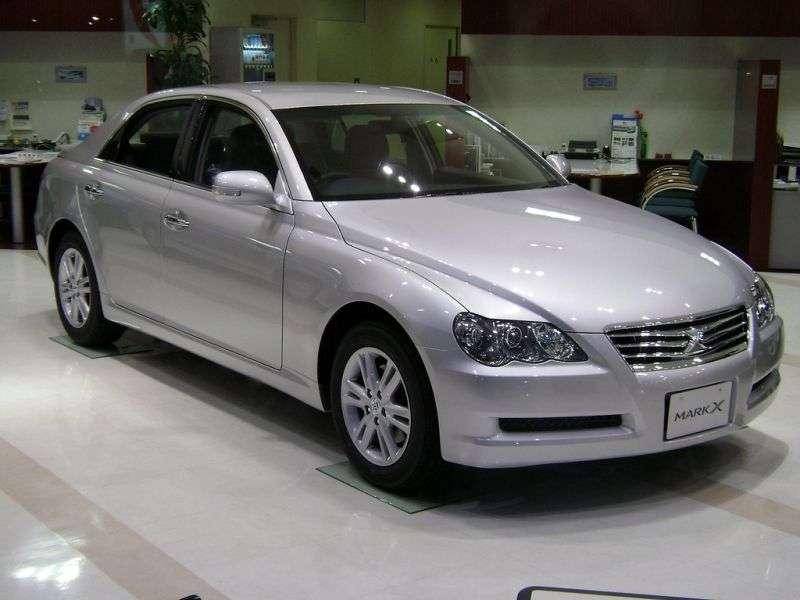 Toyota Mark X 1st generation [restyled] sedan 3.0 AT (2007–2009)
