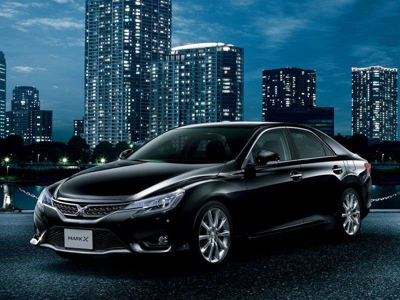 Toyota Mark X 2nd generation [restyled] 3.5 AT sedan (2012 – n.)