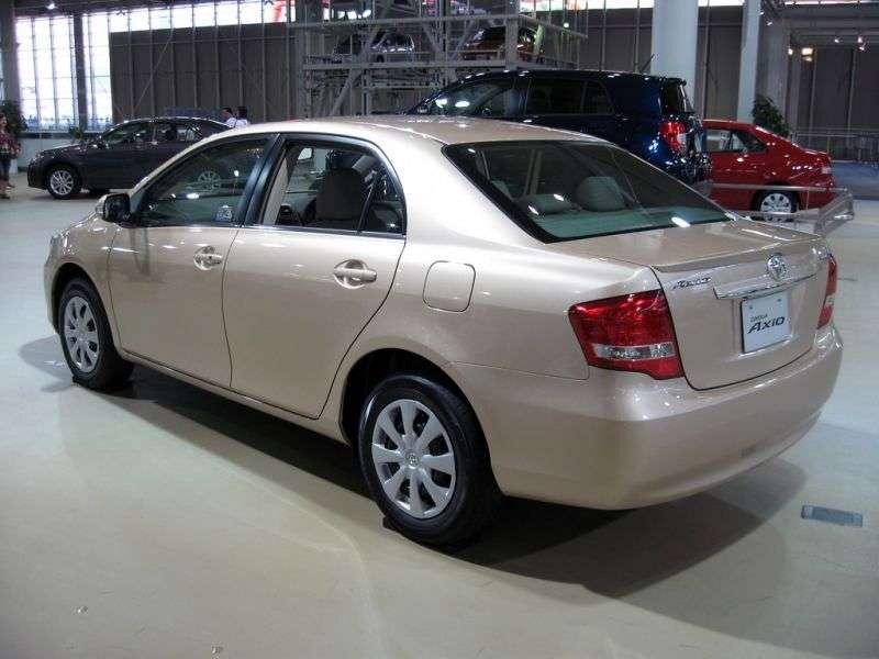 Toyota Corolla Axio E150 [restyling] 1.8 CVT sedan (2008–2012)