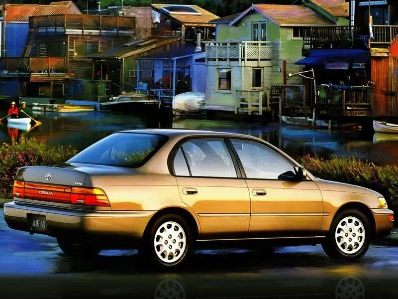 Toyota Corolla E100 sedan 1.8 AT (1993–1994)