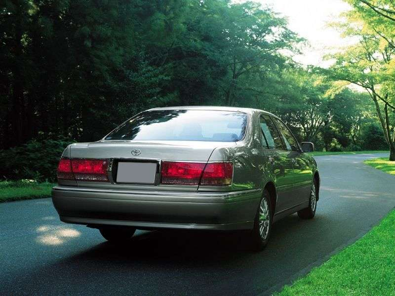 Toyota Crown S170 [restyled] 2.5 AT 4WD sedan (2001–2003)