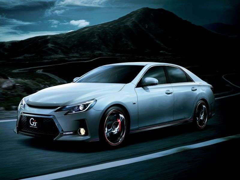 Toyota Mark X 2nd generation [restyling] 2.5 AT 4WD sedan (2012 – n.)