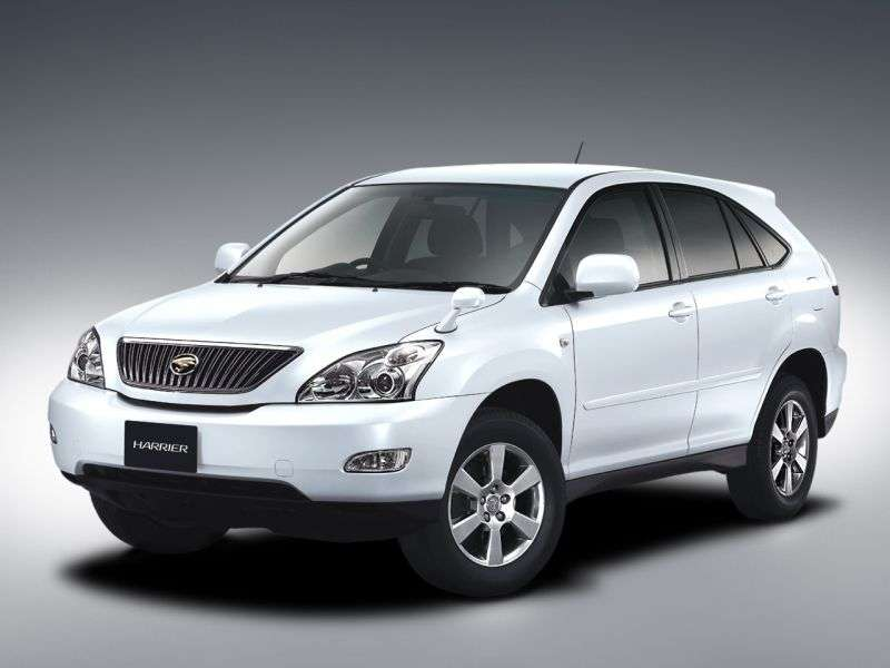 Toyota Harrier 2 generation crossover 5 bit. 3.0 AT (2003 – n. In.)