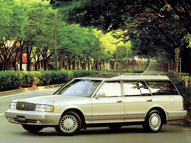 Toyota Crown S130 [restyled] JDM Universal 2.4 TD AT (1993–1999)