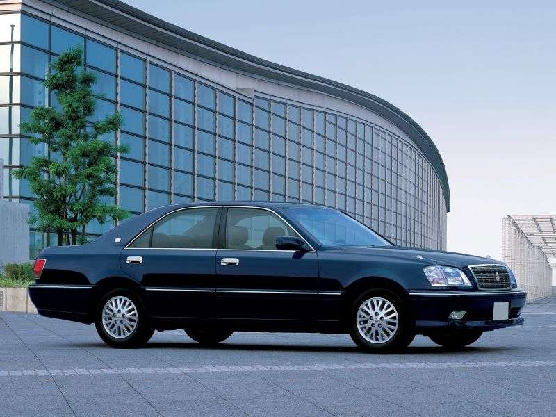 Toyota Crown S170 [restyling] sedan 3.0 AT (2001–2003)