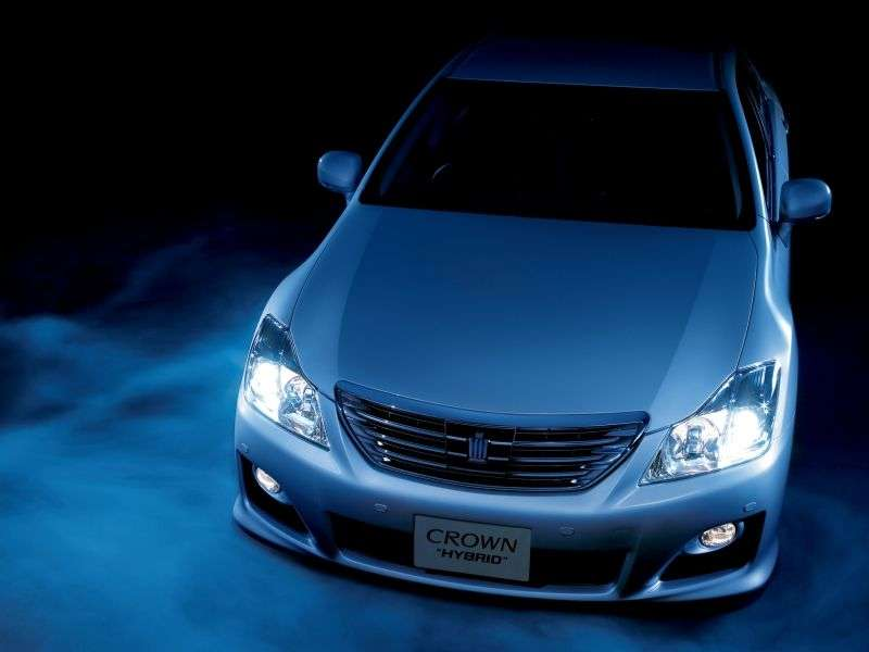Toyota Crown S200JDM Hybrid 4 door sedan. 3.5 CVT (2008–2010)