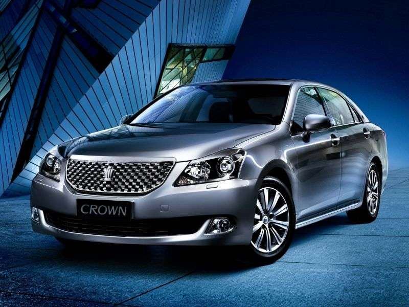 Toyota Crown S200sedan 4 bit 3.0 AT 4WD (2009–2012)