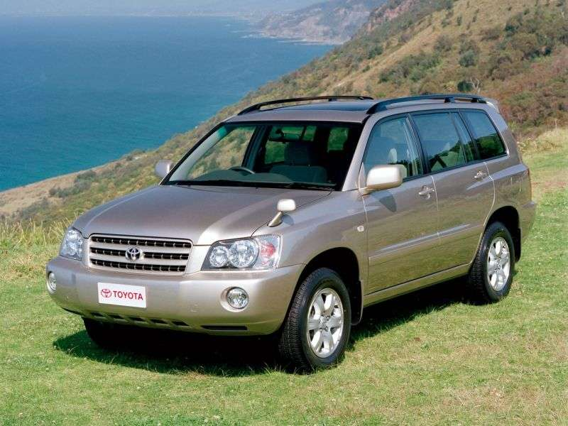 Toyota Kluger XU20 [restyling] SUV 5 dv. 2.4 AT 4WD (2003–2007)