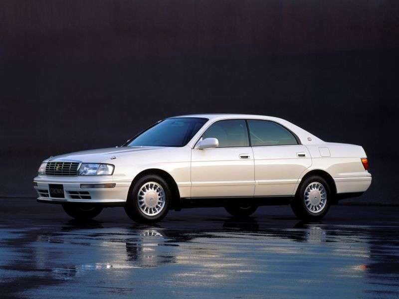Toyota Crown S140 [restyling] JDM hardtop 2.5 AT (1993–1995)