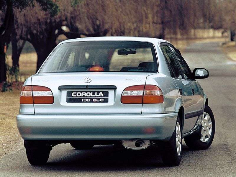 Toyota Corolla E110 [restyling] JDM sedan 1.6 AT (1997–2000)