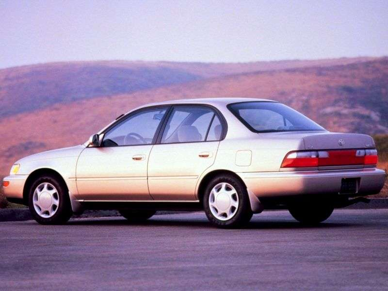 Toyota Corolla E100 [restyling] 1.6 AT 4WD sedan (1993–1995)