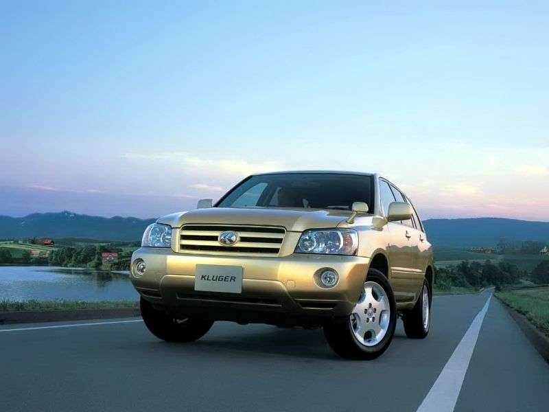 Toyota Kluger XU20 [restyling] SUV 5 dv. 3.0 AT 4WD (2003–2007)