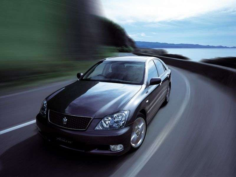 Toyota Crown S180 [restyling] JDM 4 door sedan. 3.0 AT (2005–2008)