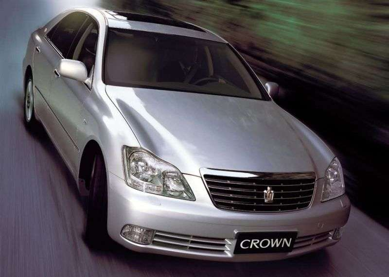 Toyota Crown S180 [restyled] sedan 3.0 AT (2005–2008)