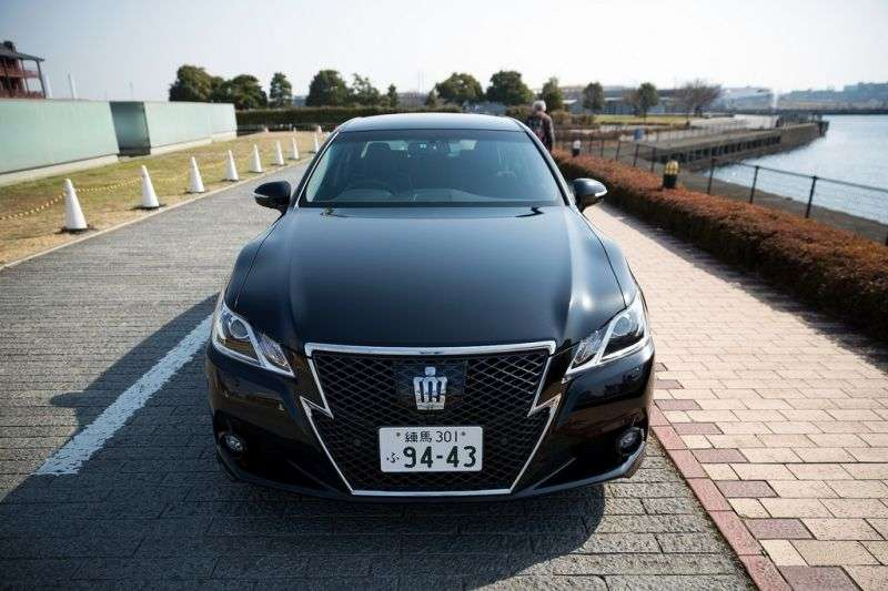 Toyota Crown S210JDM Hybrid 2.5 CVT Sedan (2012 – n.)