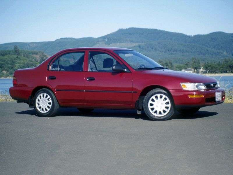 Toyota Corolla E100 sedan 1.6 AT (1991–1993)
