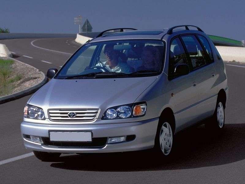 Toyota Ipsum 1st generation minivan 2.0 AT (1996–2001)
