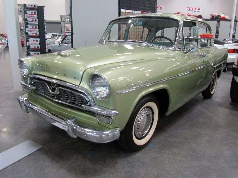Toyota Crown S30 [restyling] 1.5 Synchromesh sedan (1958–1962)
