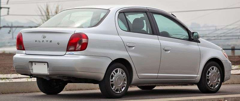 Toyota Platz 1st generation sedan 1.0 MT (2000–2002)