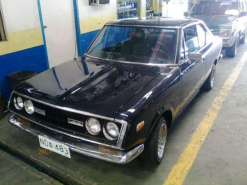 Toyota Mark II T60 / T70 coupe 1.6 MT (1968 1969)