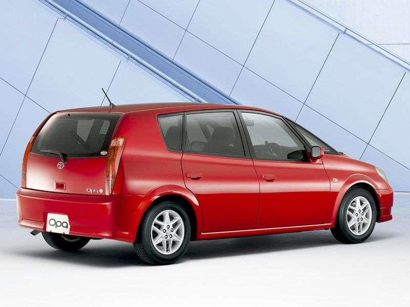 Toyota Opa 1st generation minivan 1.8 AT 4WD (2000–2005)