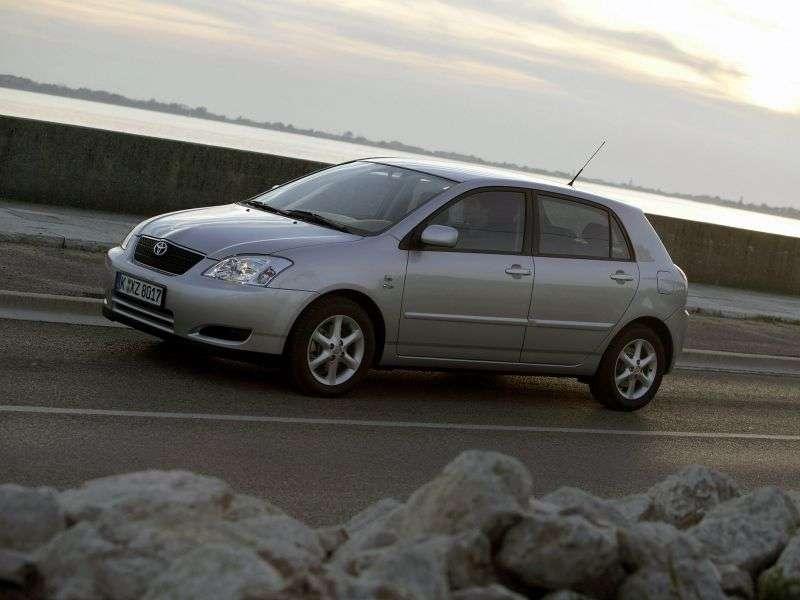 Toyota Corolla E120 hatchback 5 drzwiowy 1,6 MT (2001 2004)