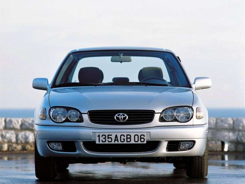 Toyota Corolla E110 [restyling] 4 door sedan 1.6 MT (2000–2002)