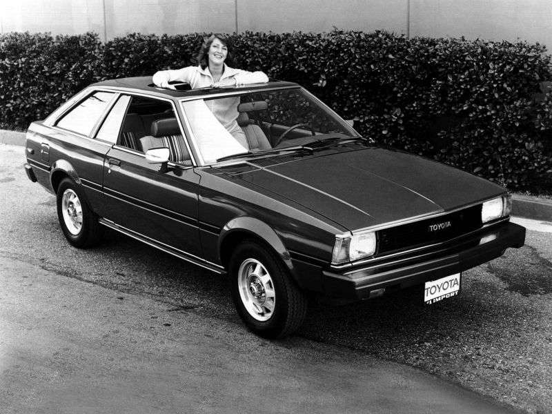 Toyota Corolla E70 [restyling] liftback 1.8 MT Overdrive (1982–1982)
