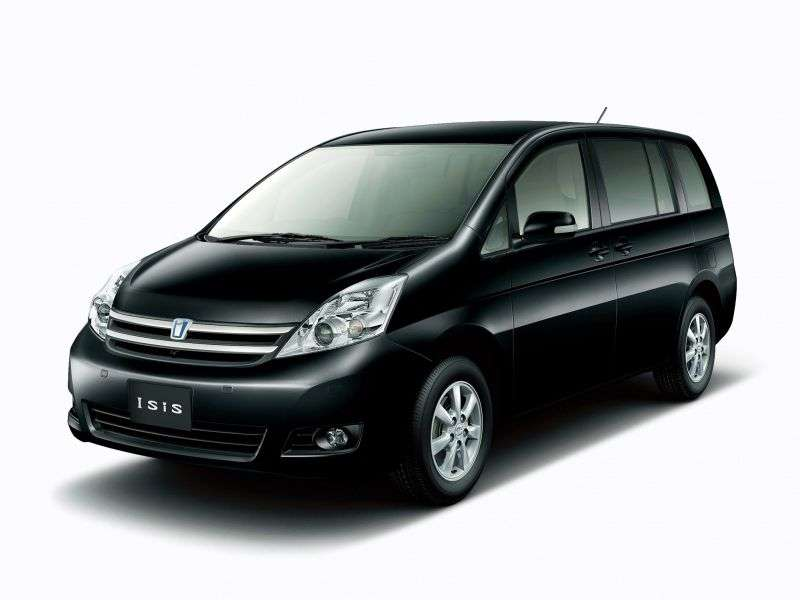 Toyota ISis 1st generation [restyled] minivan 1.8 AT (2007–2009)