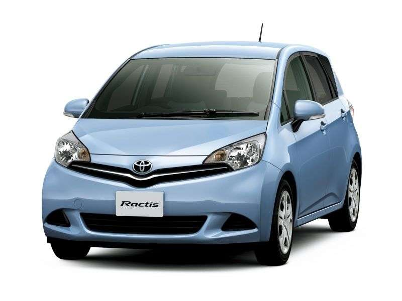 Toyota Ractis 2nd generation minivan 1.3 CVT (2010 – n.)