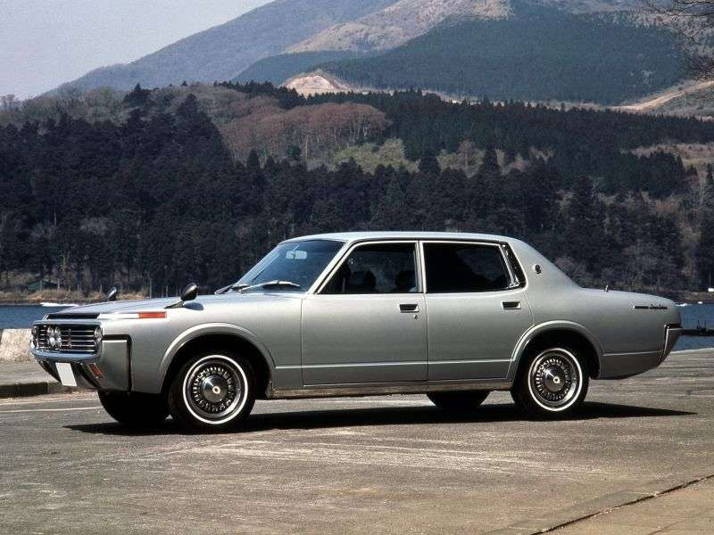 Toyota Crown S60sedan 2.6 Toyoglide (1971–1972)