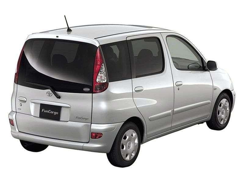 Toyota Fun Cargo 1st generation 1.5 MT minivan (1999 – n.)