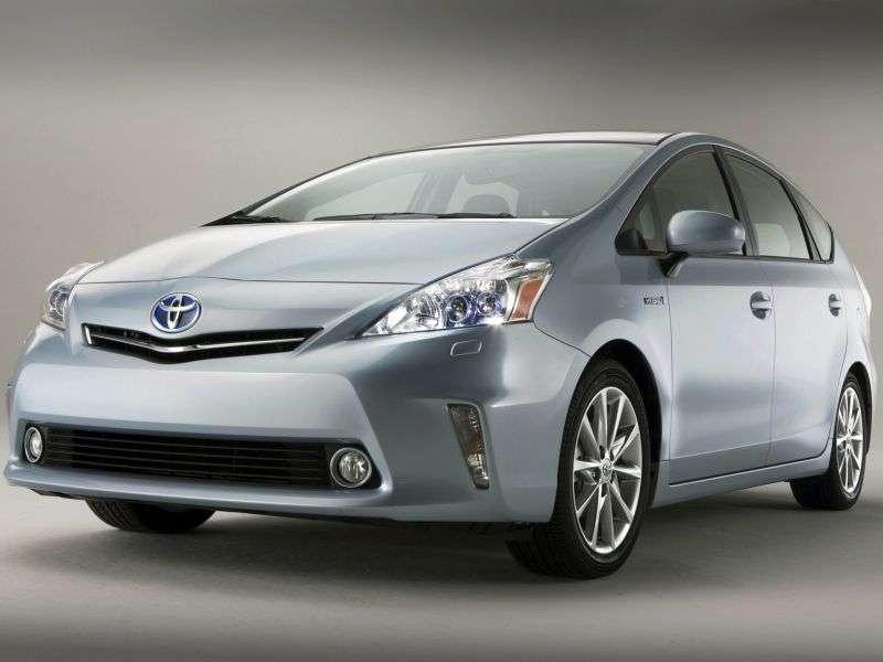 Toyota Prius V 1st generation minivan 1.8 CVT 7seat (2012 – n.)