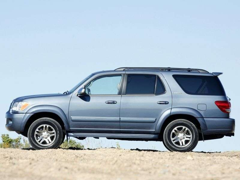 Toyota Sequoia 1st generation [restyled] SUV 4.7 AT (2005–2007)