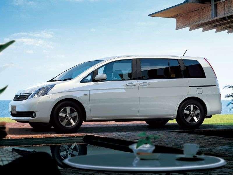 Toyota ISis 1st generation minivan 1.8 AT (2004–2007)