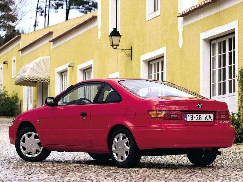 Toyota Paseo 2nd generation coupe 1.5 MT Overdrive (1996–1999)