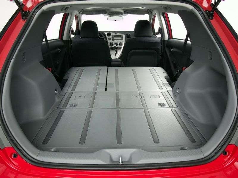 Toyota Matrix 2nd generation XR hatchback 5 dv. 2.4 MT (2009–2010)