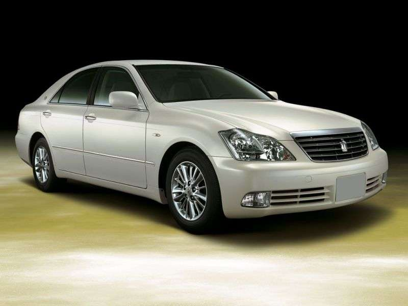Toyota Crown S180 sedan 2.5 AT 4WD (2004–2005)