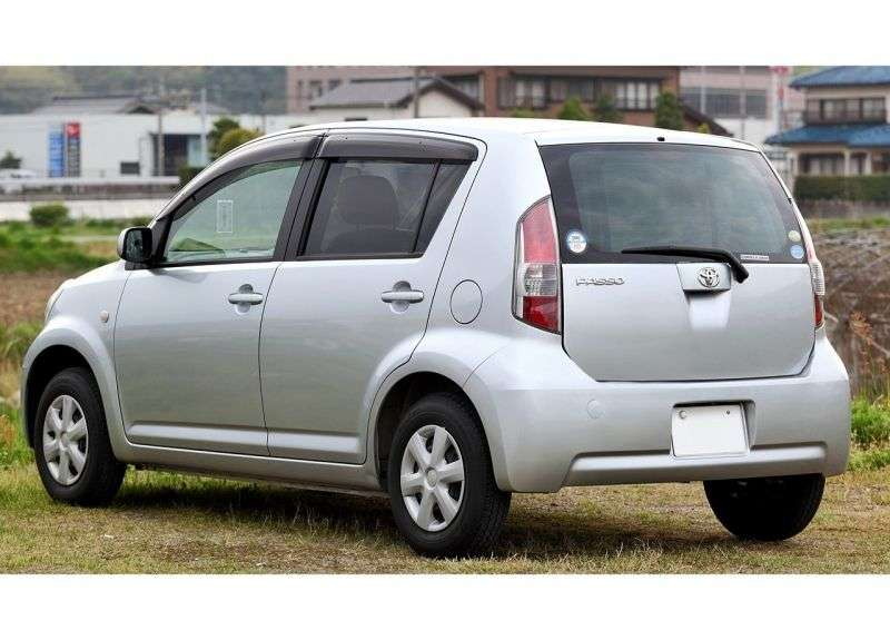 Toyota Passo 1st generation hatchback 1.0 AT (2004–2010)