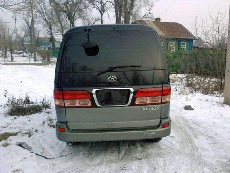 Toyota Regius 1st generation minivan 2.0 MT (1998–2004)