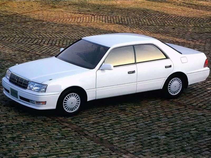 Toyota Crown S150 [restyling] JDM hardtop 3.0 AT (1997–2001)