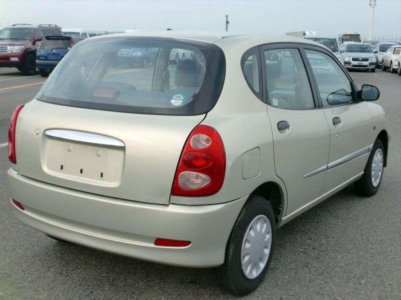 Toyota Duet 1st generation [restyled] hatchback 1.0 AT 4WD (2001–2004)