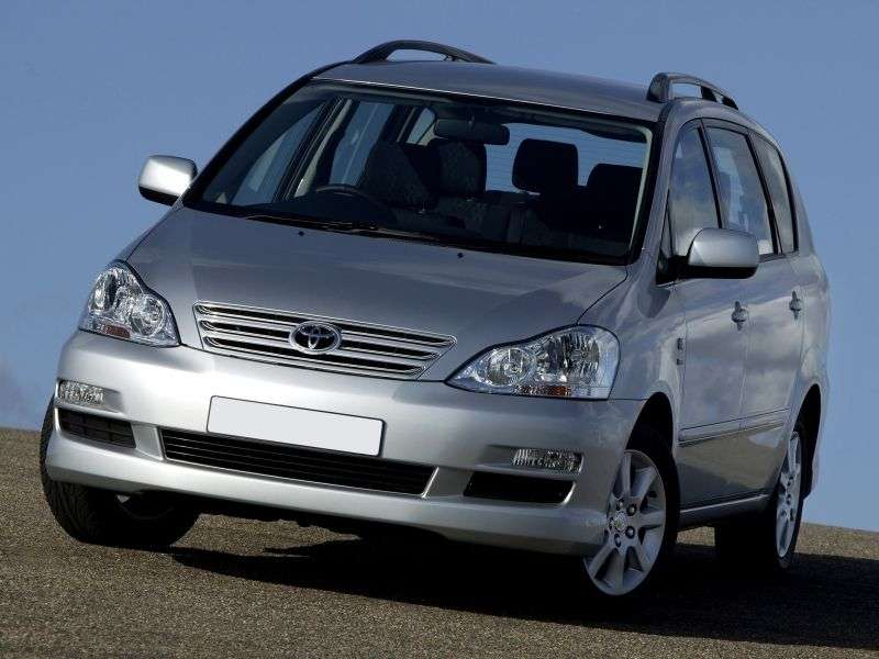 Toyota Ipsum 2nd generation [restyled] minivan 2.4 AT 4WD (2003–2009)
