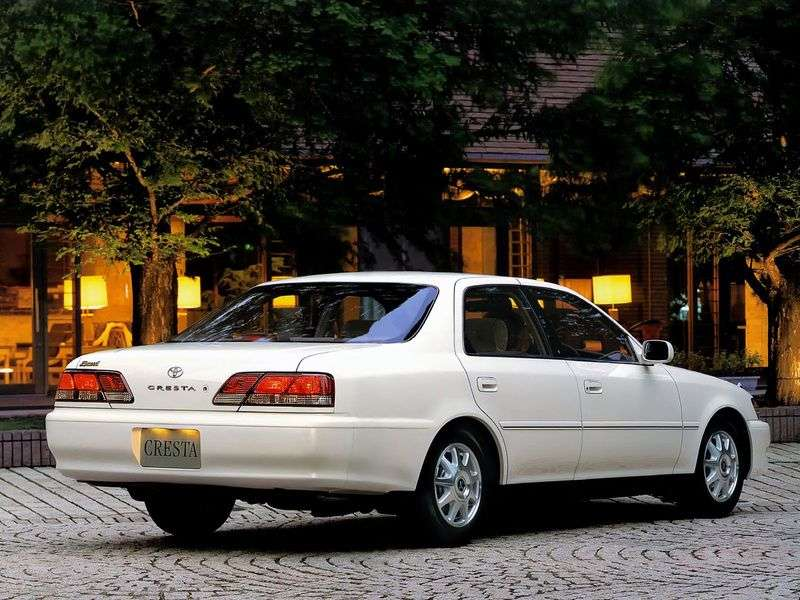 Toyota Cresta X100 [restyled] sedan 3.0 AT (1998–2001)