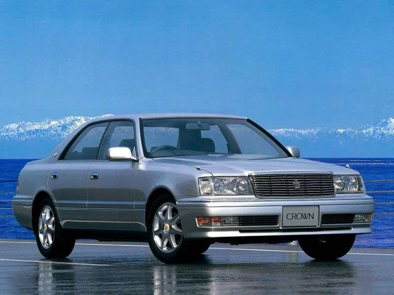Toyota Crown S150 [restyling] JDM hardtop 2.4 TD AT (1997–2001)
