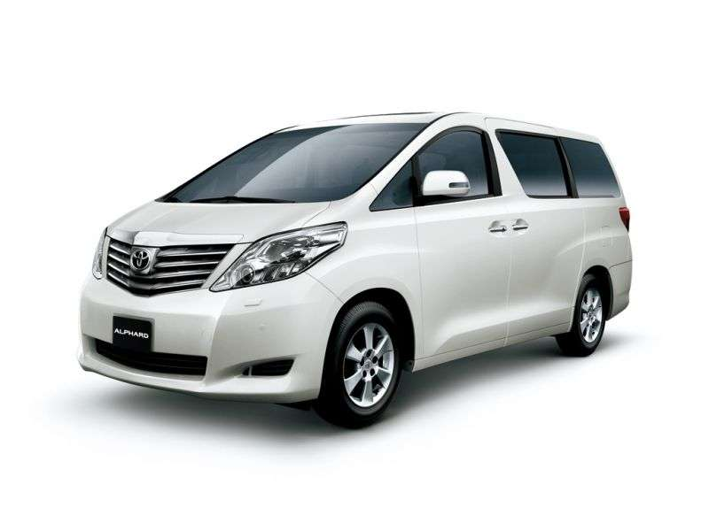 Toyota Alphard 2nd generation minivan 3.5 AT (2008–2011)