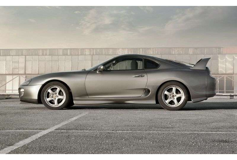 Toyota Supra Mark IV [restyling] coupe 3.0 Twin Turbo MT Overdrive (1996–2002)
