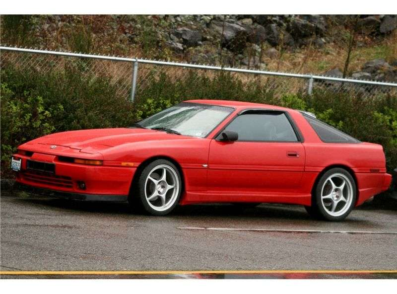 Toyota Supra Mark III [restyling] coupe 2.0 Twin Turbo MT Overdrive (1988–1991)
