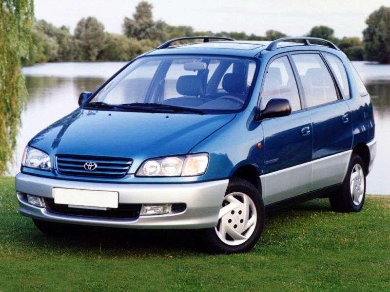 Toyota Picnic 1st generation minivan 2.0 AT (1996–2001)